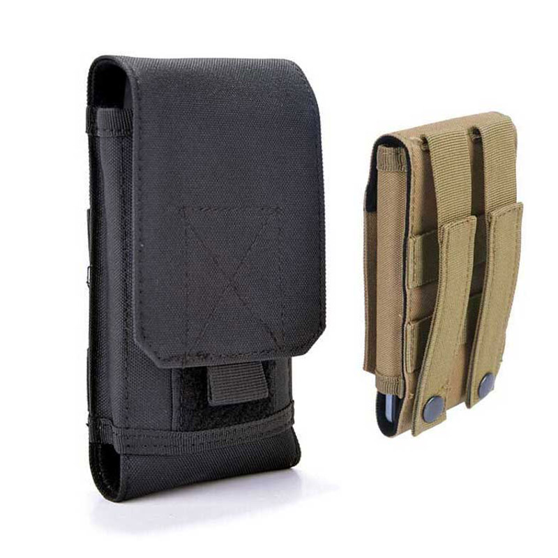 Boucho militaire tactique armée pochette étui portefeuille pour iphone 7 Plus XS MAX XR taille téléphone ceinture étui pour iphone X 6 6 S 8 Plus sac