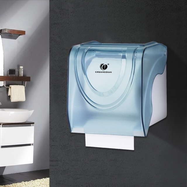 Chuangdian Wall Mounted Roll Paper Dispenser Toilet Paper Holder