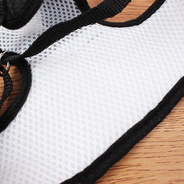 Elegant Tuxedo Dog Harness With Leash