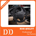 Hot Universal Auto car steering wheel cover braid filament Ice silk Fabrics for Kia Volkswagen Ford Toyota 98% Cars Styling
