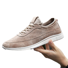 Spring Fashion Breathable Air Men Shoes Man Zapatos Hombre Casual Shoes Genuine Leather Men's Footwear Presto Chaussure Homme 95