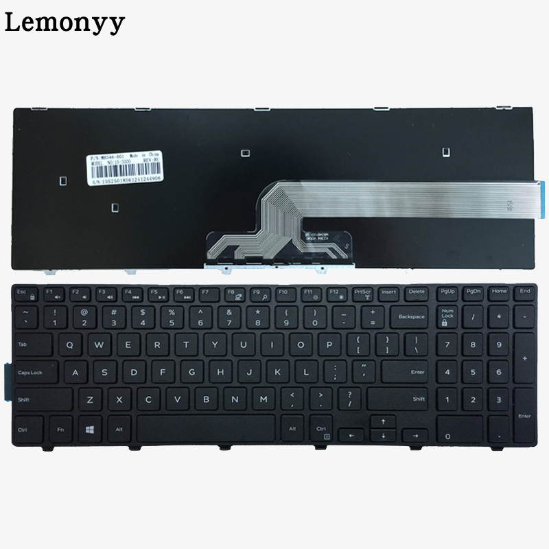 US Keyboard FOR DELL Inspiron 15 3551 3552 3541 3543 3542 3559 3565 3567 3551 3558 5566 5748 5749 5755 5758 5759 laptop keyboard цена и фото