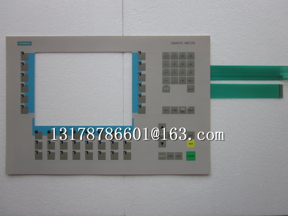 Free shipping   MP270 key mask 6AV6542-0AC15-2AX0 film switchFree shipping   MP270 key mask 6AV6542-0AC15-2AX0 film switch