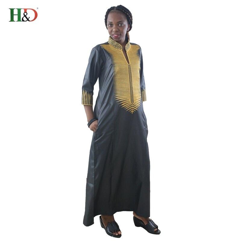 H & D συν μέγεθος αφρικανικές γυναίκες - Εθνικά ρούχα - Φωτογραφία 4