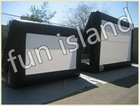 Outdoor Inflatable Screen Inflatable Projector Screens Inflatable Movie Screen