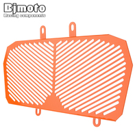BJMOTO Aluminum Motorcycle Radiator Guard Protector Grille Grill Cover For KTM DUKE 390 2013 2016