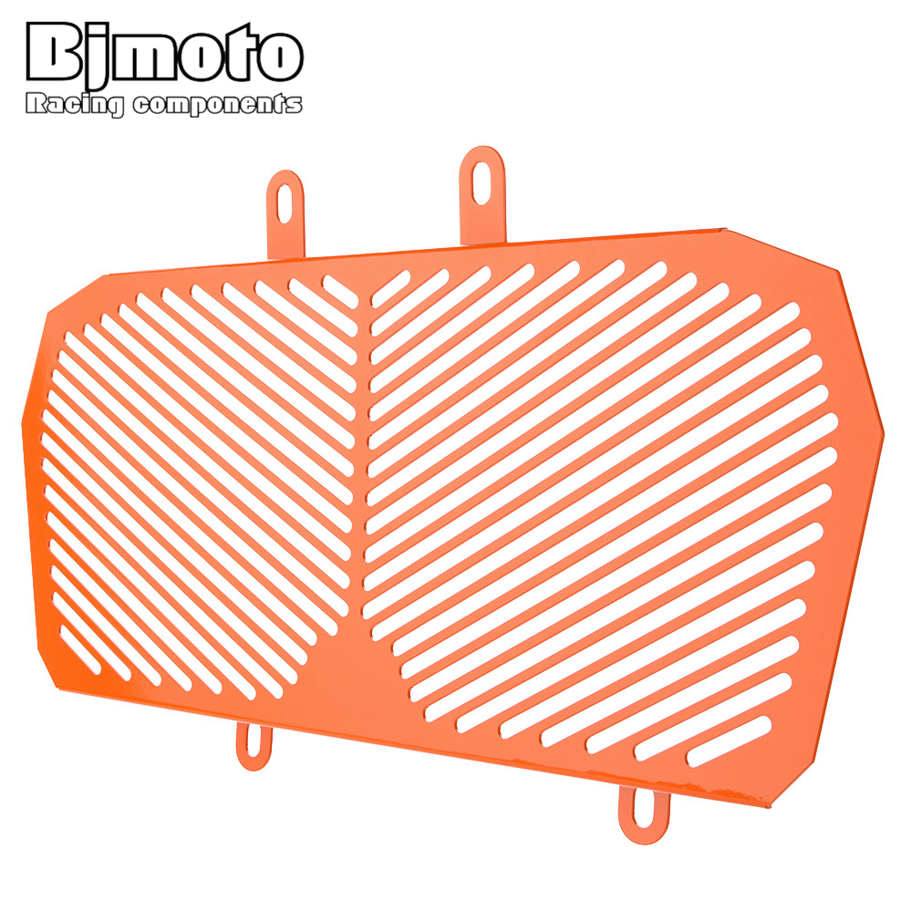 BJMOTO Aluminum Motorcycle Radiator Guard Protector Grille Grill Cover For KTM DUKE 390 2013-2016 racing grills version aluminum alloy car styling refit grille air intake grid radiator grill for kla k5 2012 14