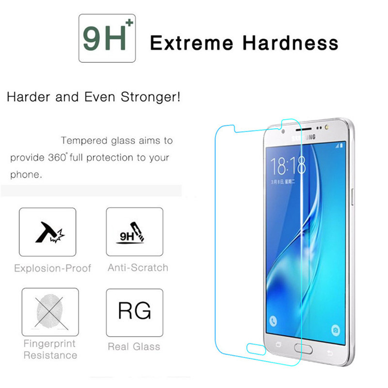 Image 4 - Tempered Glass On The For Samsung Galaxy J3 J5 J7 A3 A5 A7 2015 2016 2017 2018 Protection Glas Screen Protector Protective Film-in Phone Screen Protectors from Cellphones & Telecommunications