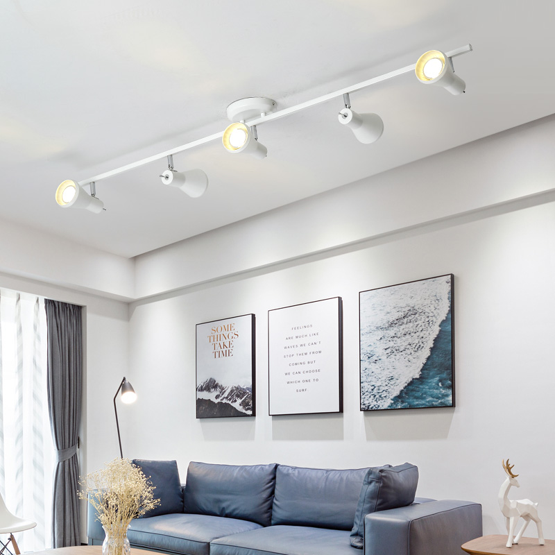 MDWELL Nordic 220V LED Ceiling Lights With Metal Lampshade For Living Room E14 Metal Ceiling Lamp Lighting Modern Foyer Lustre
