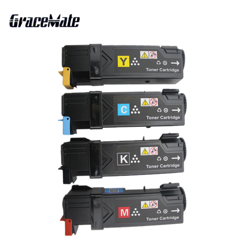 Color Toner Cartridge For Fuji <font><b>Xerox</b></font> Phaser <font><b>6140</b></font> 6140n 6140dn Laser Printer 106R1480 106R1484 Toner image