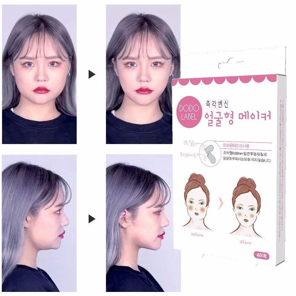 The instant face lift
