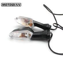 Moto Universale Indicatore di Direzione Ha Condotto La Lampada Spia Per Kawasaki Z250 Z750 Z750R Z800 Z900 Z1000 NINJA 250 300 650 ER6N F