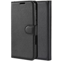 pu leather Mobile Phone Case Flip PU Leather All-round Dustproof Phone Case Card Storage With Bracket for Samsung A20e (2)