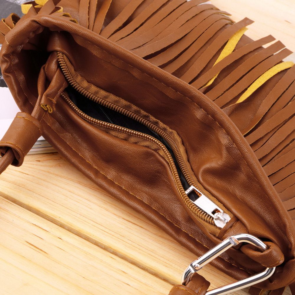 sacolas de couro pu mulheres Decorations : Tassel