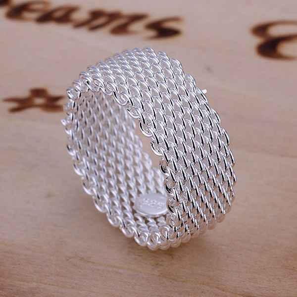 925ชุบเครื่องประดับขายส่งจัดส่งฟรีแหวนสำหรับผู้หญิงและผู้ชายเว็บแหวน/arjajiqa LQ-R040