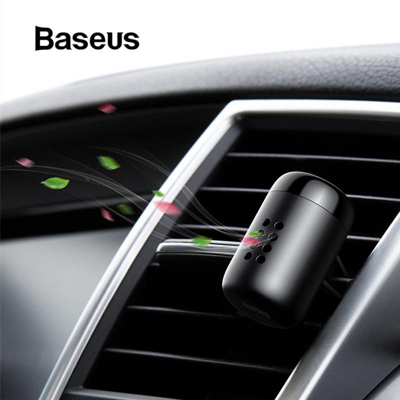 Baseus Metal Aromatherapy Car Phone Holder Air Freshener for Auto Air Vent Freshener Air Condition Clip Diffuser Solid Perfume caterham 7 csr