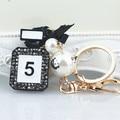 K3 Brand Famous Luxury Keychains Keyrings Feminino Llaveros Mujer Marcas Accessorie Porta Chaves Porte Clef Trinkets Portachiavi