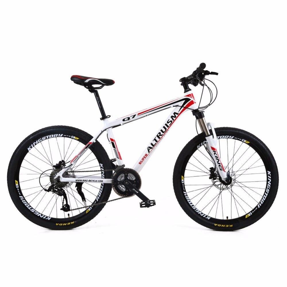 Altruism Q7 21 Speed Men Women Mountain Bike 26 Inch Aluminum MTB Bicycle Brand Bicicleta Disc