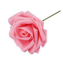 Букет сделать скрапбукинг розы искусственный пена ремесло декор цветы свадебные дома