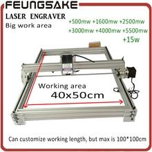 15w laser machine Machine 500mw/2500mw/5500mw Laser Power,DIY Mini Laser Engraving Machine, 40*50cm Engraving Area,Advanced Toys