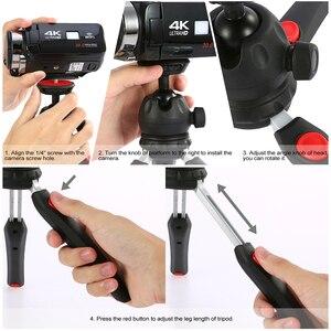Image 5 - Andoer Mini Tabletop Stativ Telefon Kamera Stativ für Canon Nikon Sony DSLR für Huawei Smartphone für GoPro