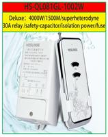 Free shipping New Hesunse 1 way fuse RF long distance 1000M high power Remote Control Switch 433mhz apply to LED