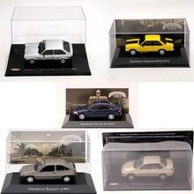 IXO 1:43 FOR Chevrolet Luxe Kadett Hatch Vectra GP Corsa Marajo Omega Monza Classic Prisma Ipanema Toys Car Diecast Model