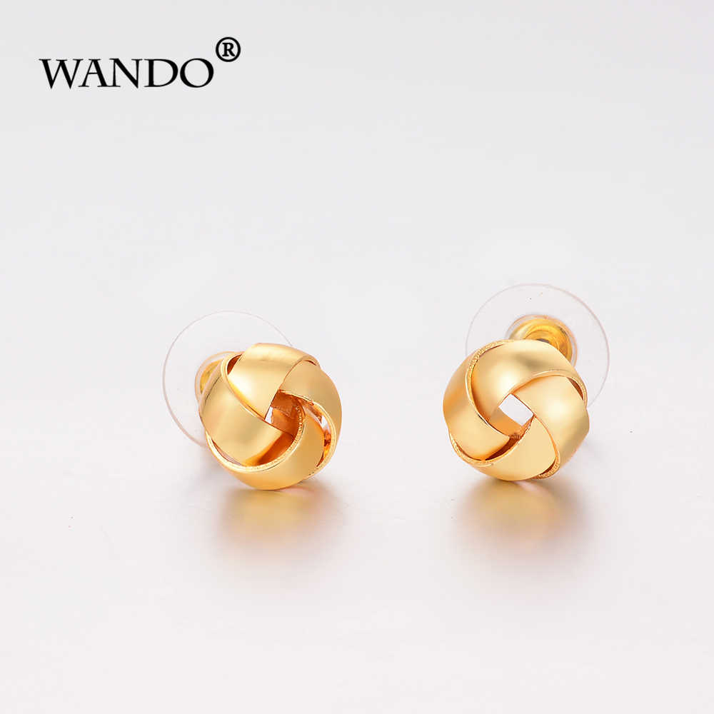 Wando Small Earring For Girl Baby Ethiopian African Kenya Nigerian Trendy Gold Color Jewelry Of Child Birthday Gifts E50 Stud Earrings Aliexpress