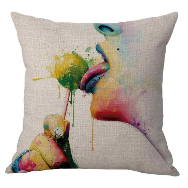 Оптовая продажа от производителя индивидуальные секс Чехлы наволочка диван секс для домашнего декора нет внутреннего заполнения