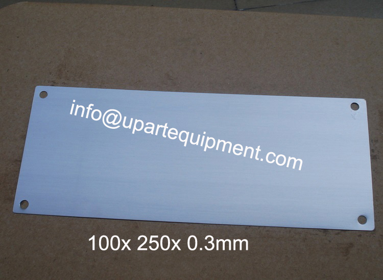 pad printer cliches, printing plates for pad printer, thin steel plate for printing цена