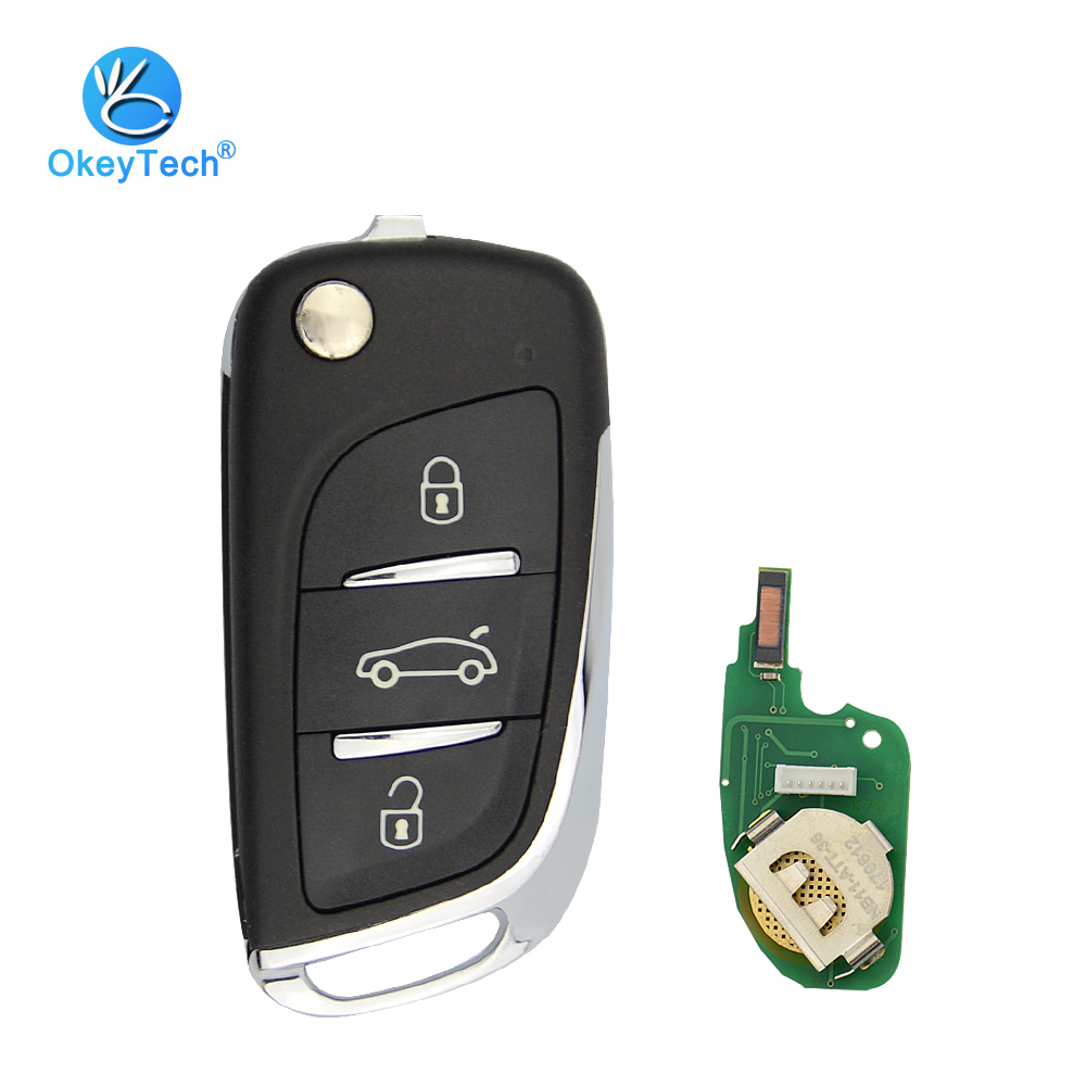 OkeyTech NB11 KD Key 3 Button NB-ATT-36 NB-ATT-46 Remote Control Auto Car Key Keydiy for MINI URG200/KD900/KD200 Key Programmer wavac att s