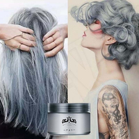 New Arrival Unisex Professional Easy Modeling Temporary Dye DIY Hair Color Wax Hair Cream