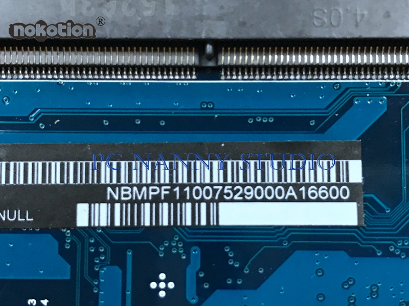 NOKOTION Mainboard NBMPF11007 448 02B16 001M for Acer Aspire V3-371 Core  i5-5257U Laptop Motherboard