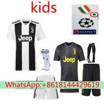 b6b97a384 2018 nuevo 2019 Juventusing camisetas de fútbol conjunto camisetas camisa  survetement hombre 18 19 fútbol niños