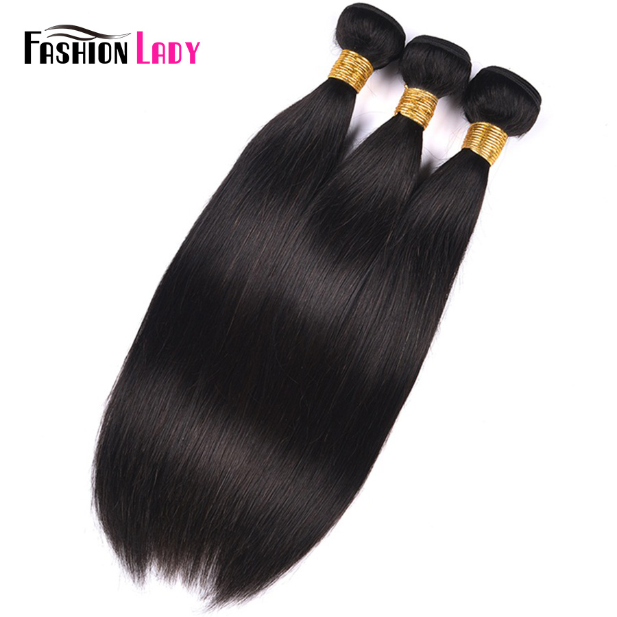 Fashion Lady Pre-colored Indian Hair Extensions Straight Hair Bundles Human Hair Weave Natural Color Hair Weaving Non-Remy