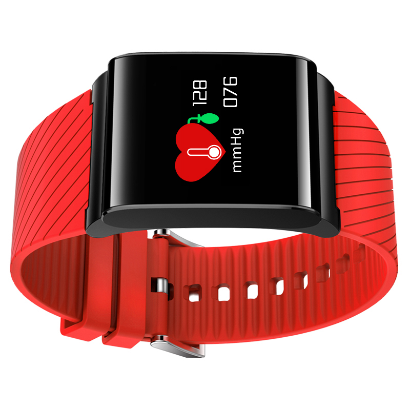X9 Pro Colorful Schermo Intelligente Wristband Passometer orologio Pressione Sanguigna Braccialetto di Sport di Frequenza Cardiaca Tracker PK xiaomi mi Band 2
