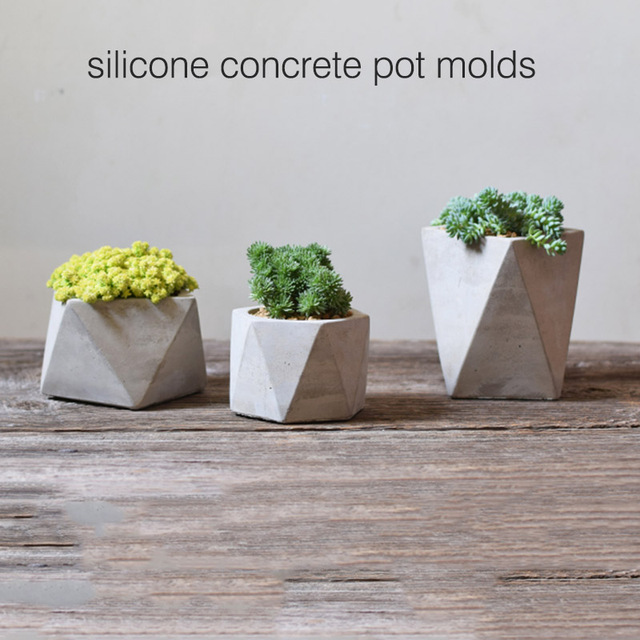 pot de fleur moules silicone vase moule silicone ciment. Black Bedroom Furniture Sets. Home Design Ideas