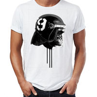 FL AEVVE Ape Riot Helmet Footballer Drip Art Mens Unisex T Shirt Men S T Shirt