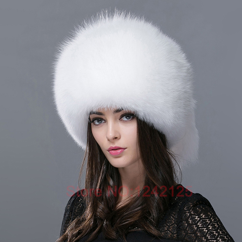 New unisex Hot Winter women girl children adult Real fox fur genuine leather Raccoon bomber ear warm character bomber hats caps 2017 new cute acrylic kid hats of unisex character pattern caps for children spring knitted warm cap with horn 170424 x124