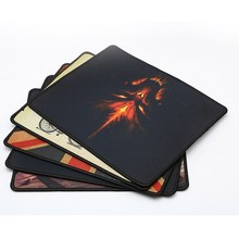 лучшая цена SUNROSE Computer desktop mouse pad game office home mouse pad personality mouse pad small extra thick keyboard pad