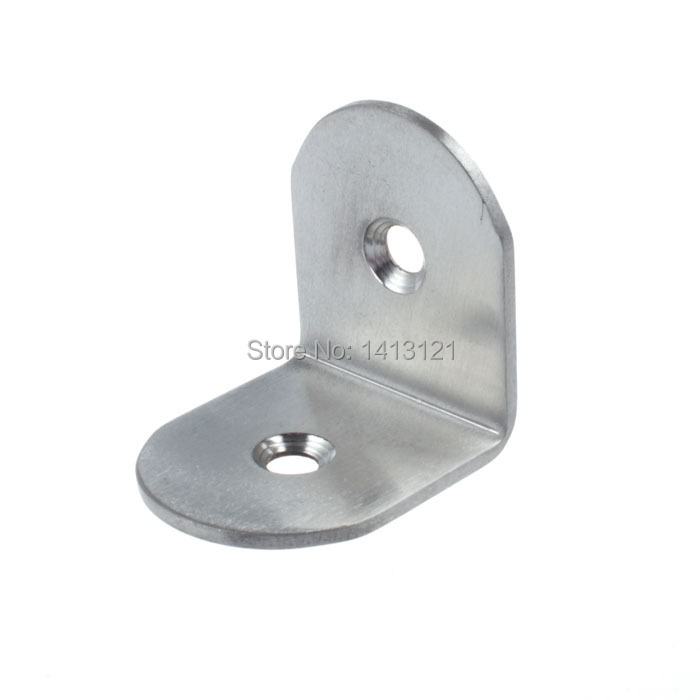 free shipping metal corner bracket thickened stainless steel angle code angle iron DIY part furniture fitting household hardware free shipping s style wall bracket furniture fitting bed corner hanger buckle sheet mirror frame hook diy picture hardware part