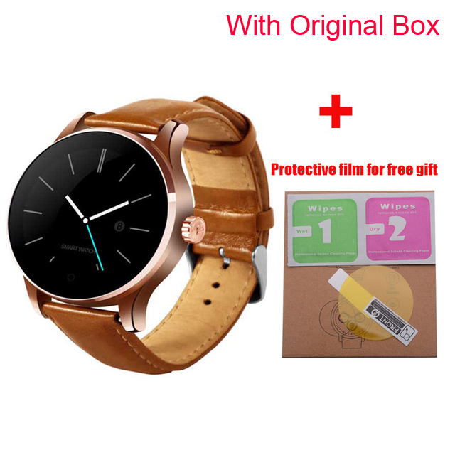 K88H Smart Watch with Bluetooth call 1.22 Inch IPS Screen Support Sport Heart Rate Monitor Bluetooth SmartWatch PK L8 Q8 DT98