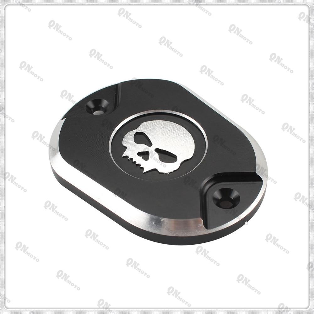 Motorcycle Skull Front Brake Master Cylinder Cover For Harley Sportster XL883 XL 883  Sporster 1200  2004-2013 05 06 07 08 09 10