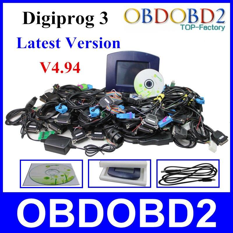 Hottest Selling Digiprog 3 Odometer Programmer Full Software V4 94 Digiprog III Mileage Correction Tool Digiprog3