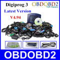 Hottest Selling Digiprog 3 Odometer Programmer Full Software V4.94 Digiprog III Mileage Correction Tool Digiprog3 DHL Free