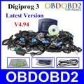 Venta caliente Digiprog 3 Programador Del Odómetro V4.94 Digiprog III del Software Completo Digiprog3 Corrección del Kilometraje Herramienta Libre de DHL