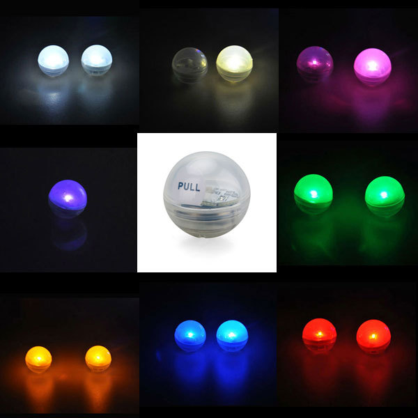 1200pcs Lot Battery Operated 11 Colors Slow Fading Firefly Effect Mini Led Party Light Fairy Pearls For Wedding Decor