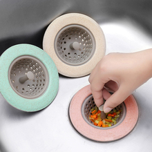 Soft Kitchen Sink Strainer Silicone-Rubber Drain Cover Colander Sewer Bathroom Hair Catcher Filter Accessories