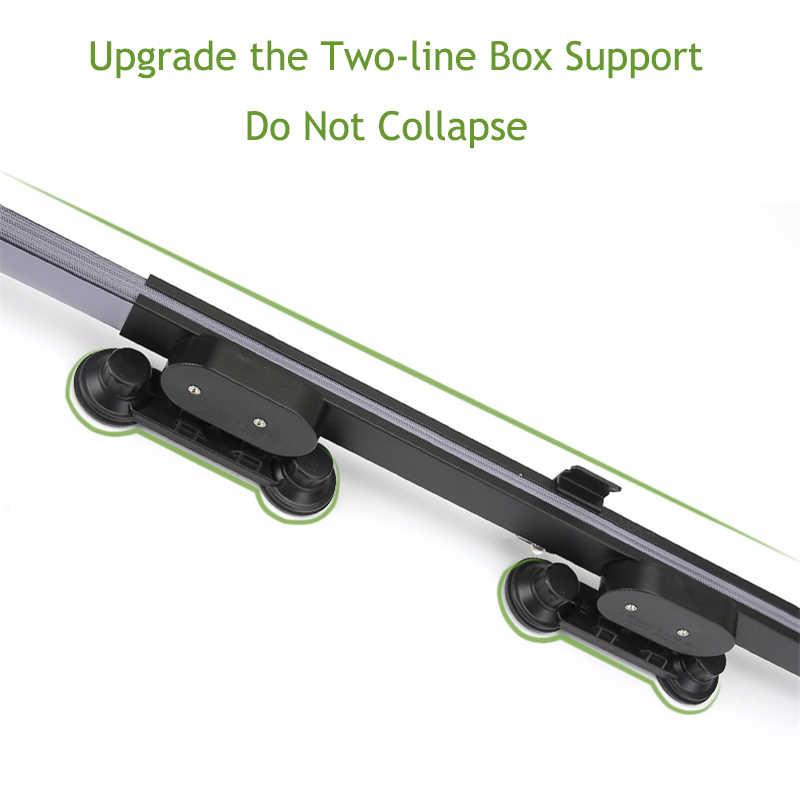 Mobil Ditarik Kaca Depan Berjemur Shade Blok Kerai Cover Depan Belakang Jendela Foil Tirai untuk Solar UV Melindungi 46/65 /70 Cm