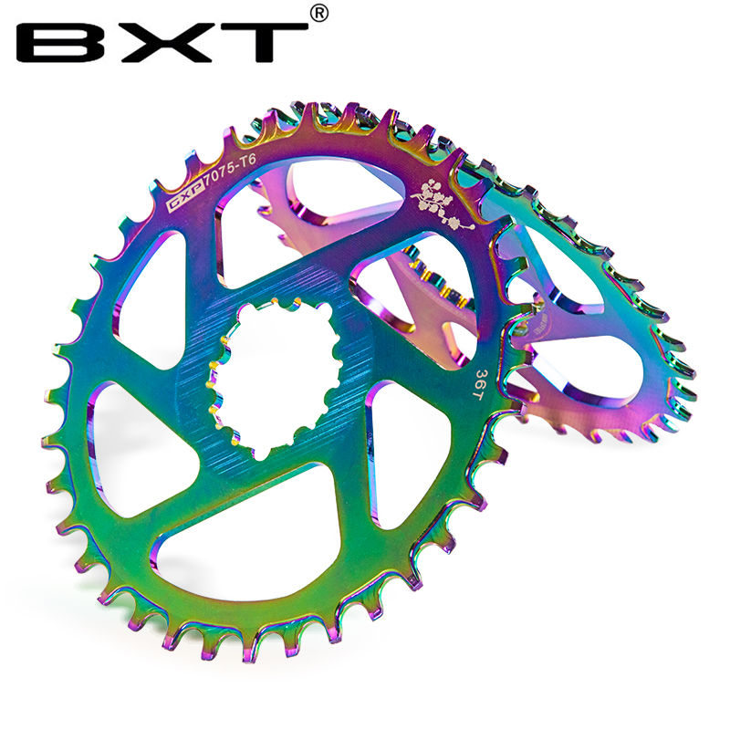 BXT Bicycle Crank GXP 32T 34T 36T 38T Chain wheel mountain road bike Chainring for gx xx1 X1 x9 gxp Eagle NX|Bicycle Crank & Chainwheel| |  - title=